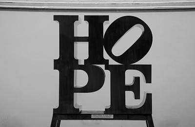 Indiana Scenes Digital Art - Hope In Black And White by Rob Hans