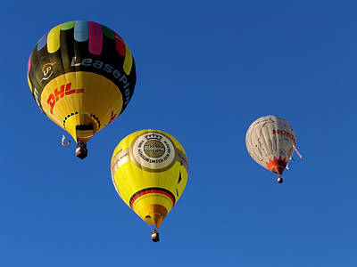 3 Hot Air Balloon Original by John Swartz