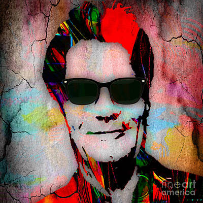 Huey Lewis Mixed Media - Huey Lewis Collection by Marvin Blaine
