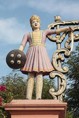 Hindu Goddess Photograph - India, Rajasthan, Jhunjhunu District by Alida Latham