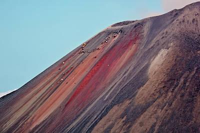 Sumatra Photograph - Indonesia, Sumatra, Java, Anak Krakatau by Alida Latham