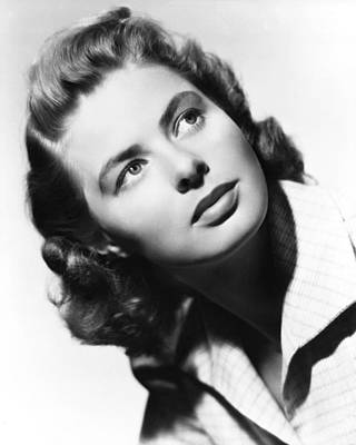 Bergman Photograph - Ingrid Bergman by Silver Screen