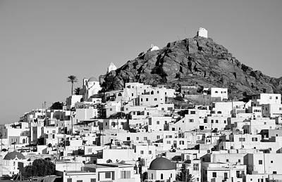Ios Photograph - Ios Town by George Atsametakis