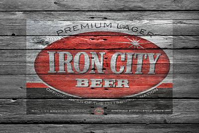 Hop Photograph - Iron City Beer by Joe Hamilton