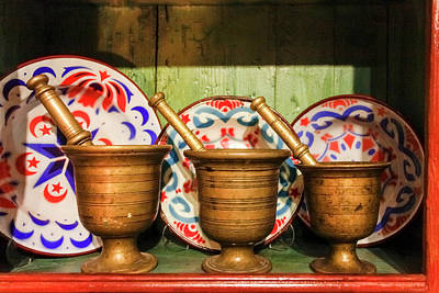 Mortar And Pestle Photograph - Istanbul, Turkey by Julien Mcroberts
