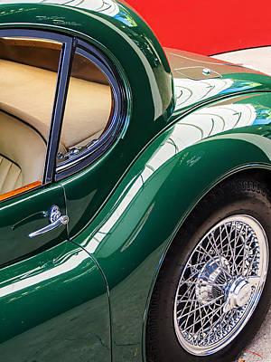 Jaguar Xk 140 Print by SM Shahrokni