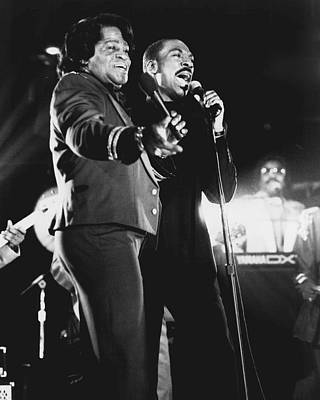 Augusta Photograph - James Brown by Retro Images Archive