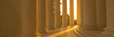 Jefferson Memorial, Washington Dc Print by Panoramic Images