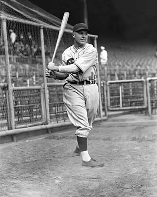 Philadelphia Phillies Stadium Photograph - John F. Johnny Moore by Retro Images Archive