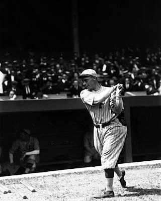 Philadelphia Phillies Stadium Photograph - John H. Heinie Sand by Retro Images Archive