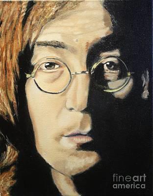 John Lennon Print by Michael Kulick