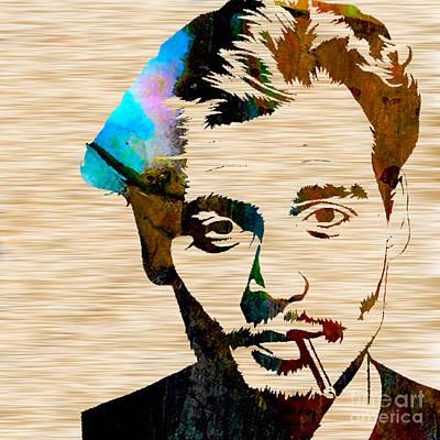 Johnny Depp Mixed Media - Johnny Depp by Marvin Blaine