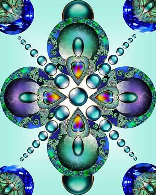 Kaleidoscope Print by Ellen Henneke