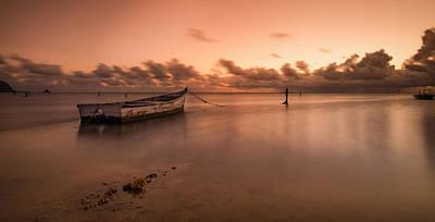 Haleiwa Photograph - Kaneohe Bay Sunrise by Tin Lung Chao