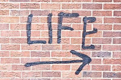 Life Print by Tom Gowanlock