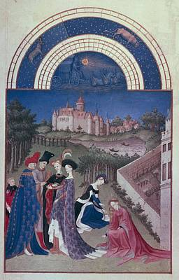 Limbourg, Jean Ca. 1370-1416 Limbourg Print by Everett