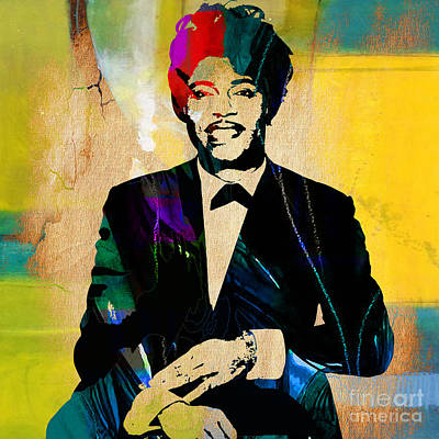 Music Mixed Media - Little Richard Collection by Marvin Blaine