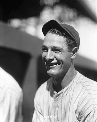 Lou Gehrig New York  Print by Retro Images Archive
