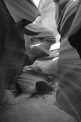 Lower Antelope Canyon Print by Mike Herdering