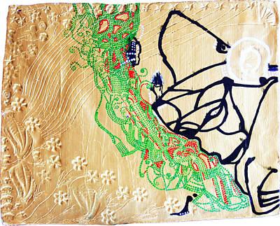 Dinka Ceramic Art - Mama Dinka - South Sudan by Gloria Ssali