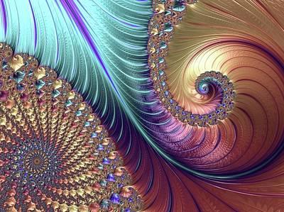 Fractal Geometry Photograph - Mandelbrot Fractal by Alfred Pasieka
