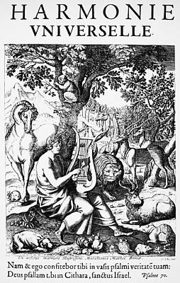 Marin Mersenne (1588-1648) Print by Granger