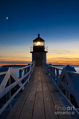 Marshall Point Light Print by Brian Jannsen