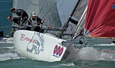 Water Skippers Photograph - Melges Regatta by Steven Lapkin