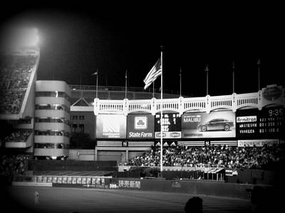 Yankee Stadium Photograph - Memories Of The House That Ruth Built by Aurelio Zucco