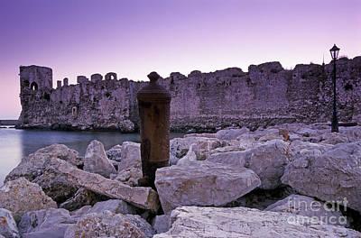 Rock Photograph - Methoni Castle by George Atsametakis