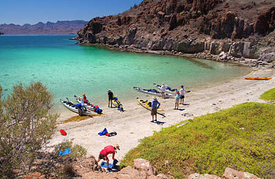Mexico, Baja, Sea Of Cortez Print by Gary Luhm