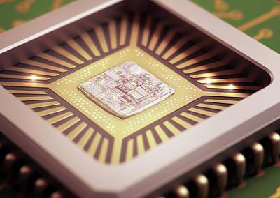 Microchip Print by Ktsdesign