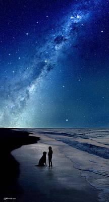 Milky Way Dreams Print by Kathleen Horner
