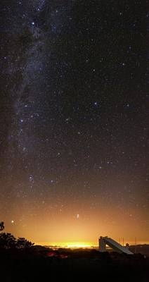 Perseus Photograph - Milky Way Over Kitt Peak Observatory by Babak Tafreshi