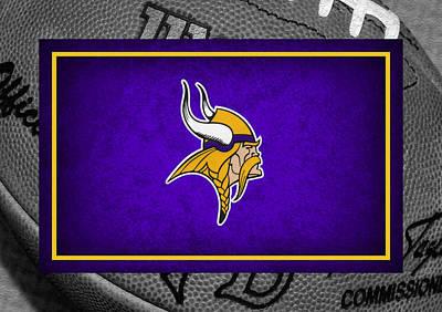 Minnesota Photograph - Minnesota Vikings by Joe Hamilton