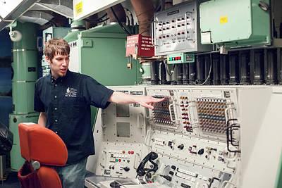 Minuteman Missile Control Room Print by Jim West