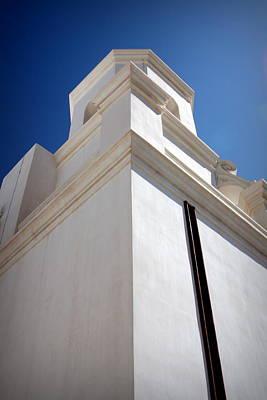 Wall Photograph - Mission San Xavier Del Bac by Joe Kozlowski