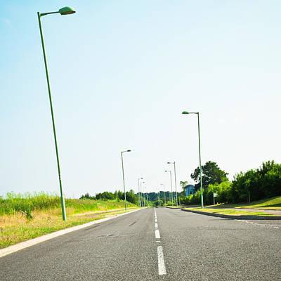 Modern Road Print by Tom Gowanlock