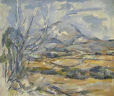 Paul Cezanne Painting - Montagne Sainte Victoire by Paul Cezanne