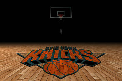 New York Knicks Print by Joe Hamilton