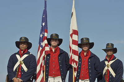 Honor Guard  Print by Marianne Campolongo