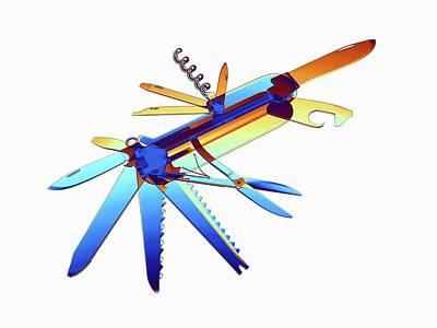 Penknife Print by Alfred Pasieka