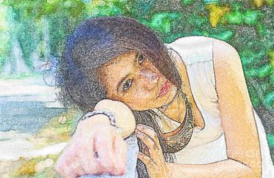 Portrait Original by Nuriyah