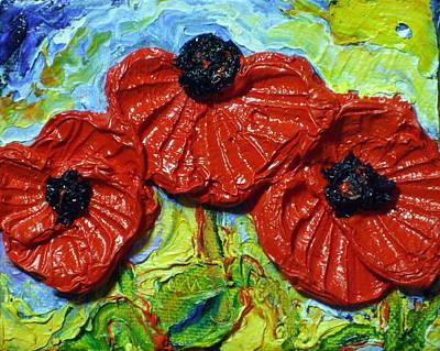 Red Poppies Print by Paris Wyatt Llanso