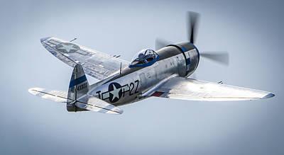 Republic P-47d Thunderbolt  Print by Puget  Exposure