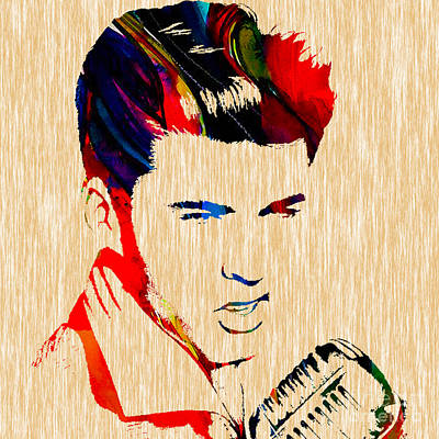 Ricky Nelson Collection Print by Marvin Blaine