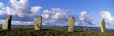Megalith Photograph - Ring Of Brodgar, Orkney Islands by Panoramic Images