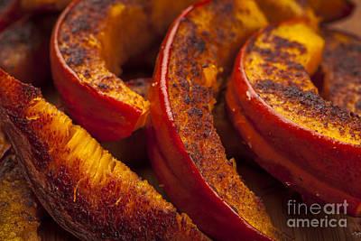 Vegetables Photograph - Roasted Pumpkin by Elena Elisseeva
