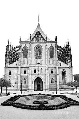 Tourist Attraction Digital Art - Saint Barbara Church  by Michal Boubin