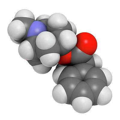 Datura Photograph - Scopolamine Anticholinergic Drug Molecule by Molekuul